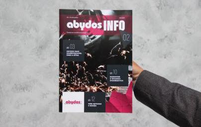 Nové číslo interního magazínu Abydos Info